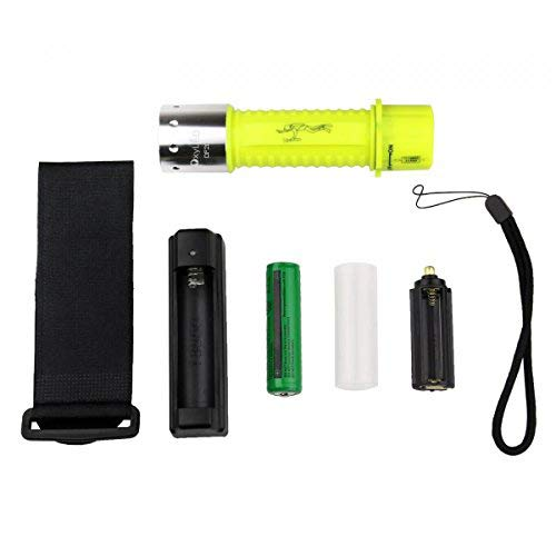OxyLED 1100 Lumen Diving Flashlight, Rechargeable Super Bright Underwater...