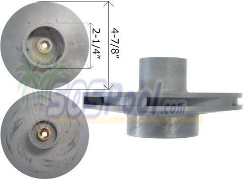 (Waterway 1 HP High Pressure Impeller SVL56 310-7420)