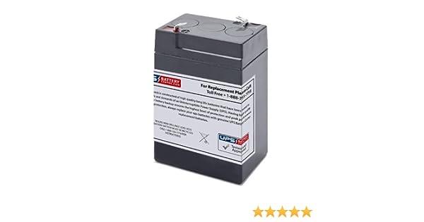 Replacement Battery for KEYKO KT-645 6V 4.5Ah F1 Sealed Lead Acid SLA