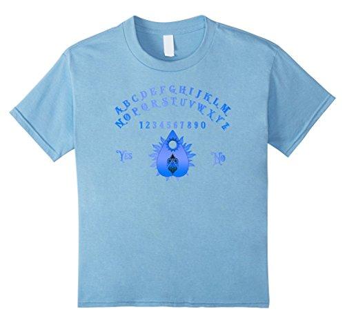 Kids Spirit Board Blue Planchette Halloween Occult T shirt 8 Baby (Halloween Occult)
