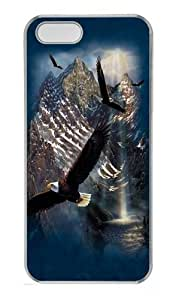Reflections of Freedom PC Case Cover for iPhone 5 and iPhone 5s Transparent