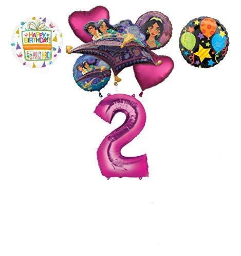 Mayflower Products Aladdin 2nd Birthday Party Supplies Princess