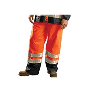 Occunomix Breathable/Waterproof Pants 3X Orange