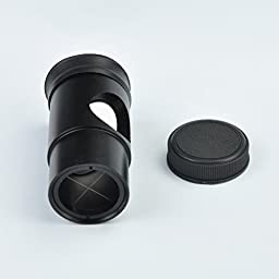 Gosky Universal 1.25 Inch Collimation Eyepiece with Cross Hair for Newtonian Telescopes for Celestron, Orion, Skywatcher Etc