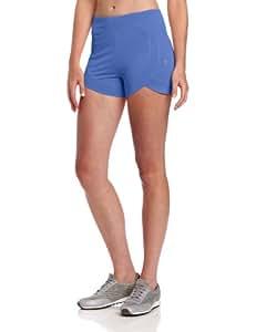 Colosseum Women's Body Huge Scallop Shorts, Blue Light, Small