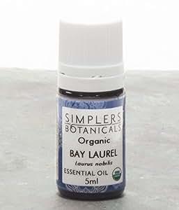 Essential Oil Bay Laurel Organic Simplers Botanicals 5 ml Liquid