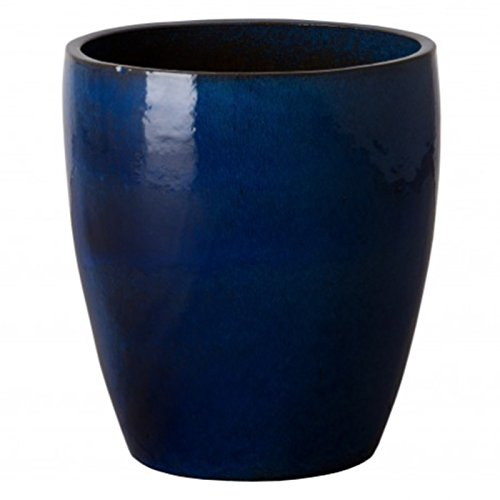 Bullet Ceramic Planter - Blue by Emissary