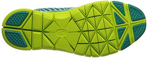 Nike Free 5.0 Tr Forme 4 Impression Femmes Cross Training Chaussures Trb Grn / Blanc / Vnm Grn / Pr Pltnm