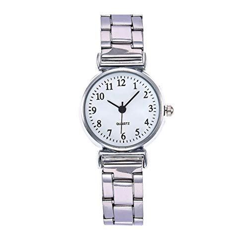 (Dergo ☀Watch Women's Fashion Luxury Watch Simple Casual Creative Gift Quartz Watch (B))