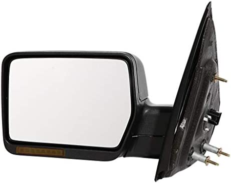KarParts360 For 2004 2005 2006 FORD F150 Door Mirror Driver SideTextured FinishHeated Signal Indicator