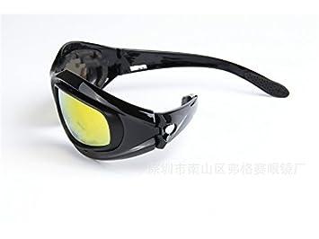 HFjingjing Deportes Gafas de Sol Deportivas polarizadas PanpA Gafas de Ciclismo Lentes Intercambiables Gafas de Ciclismo