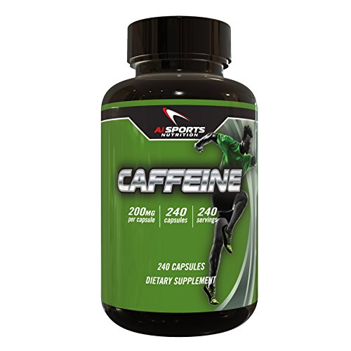 Caffeine 240 Servings 200MG Per Serving by Ai Sports