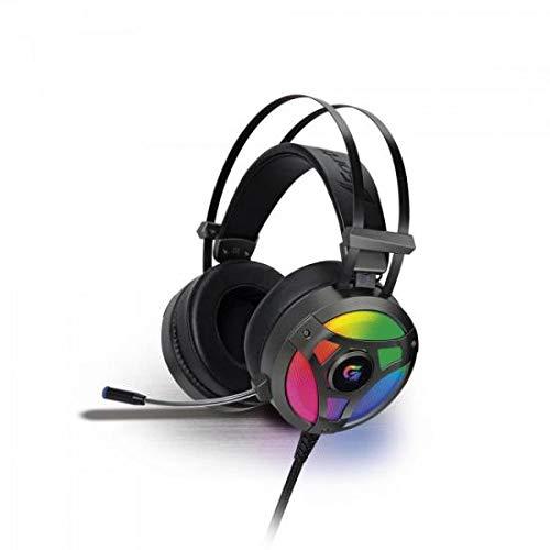 Headset Gamer Rgb H1 Pro Cinza, Fortrek, Microfones e Fones de Ouvido