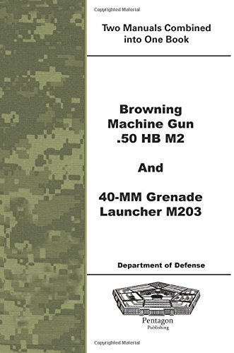 Browning Machine Gun .50 HB M2 and 40-mm Grenade Launcher M203 -