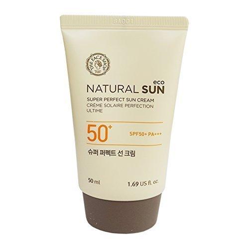 The Face Shop Super Perfect Sun Cream Spf50+/pa+++ Sunscreen 50ml (The Face Shop Super Perfect Sun Cream)