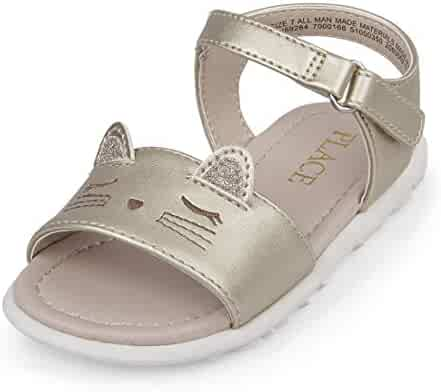 The Children's Place Kids' TG Cat Canary Flat Sandal