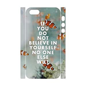 3D Bumper Plastic Customized Case Of Artistic for iPhone 5,5S by ruishername