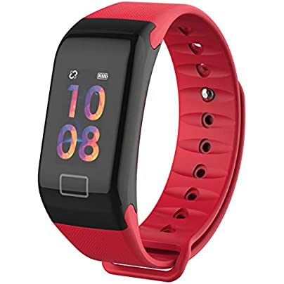 ZZXXCC The Blood Smart Bracelet Color-Screen Fitness Tracker Heart Rate And Sleep Monitor Wristband Estimated Price -
