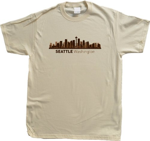 Seattle, WA City Skyline Unisex T-shirt Washington Hometown Pride Tee