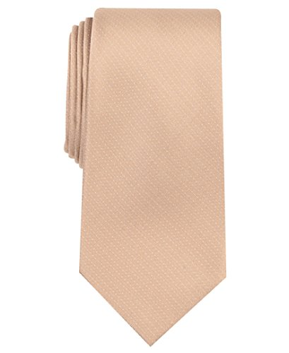 Perry Ellis (PERRK) Men's Dolby Solid Tie, taupe One Size
