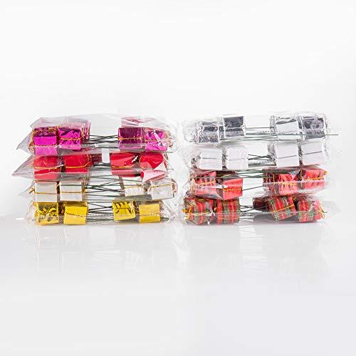 ZHUANGYI 24 Pcs Assorted Color Foil Boxes 2