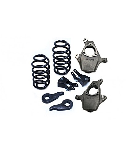 Maxtrac Suspension KS331034 3/4in Lowering Kit Uses Factory Shocks 2000-06 Gm Suv ()