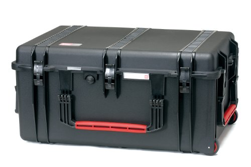 HPRC 2780WDK Wheeled Hard Case with Divider Kit (Black)