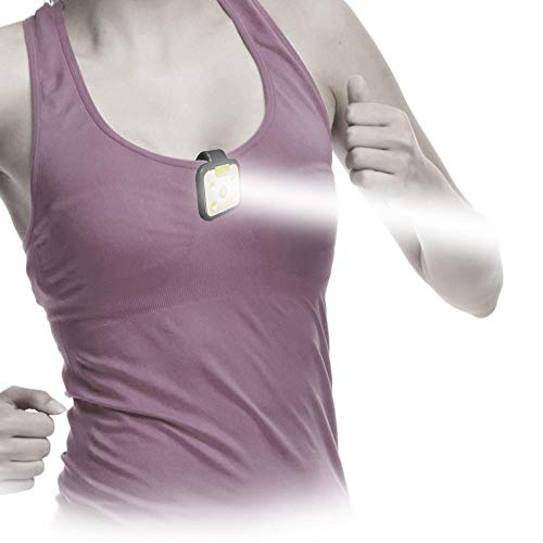 VivaColor by JayCee Products Light it up! Bright LED Runners Light for Running, Jogging, Walking, Dog Collar, Camping and BBQ. Wearable Hands Free Flashlight. Rechargeable, Clip-on, Safer to be seen