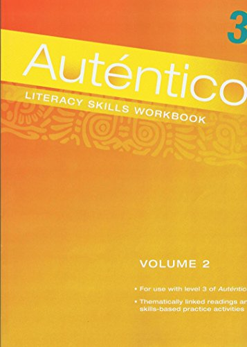 AUTENTICO 2018 LITERACY SKILLS WORKBOOK VOLUME 2 GRADE 6/12