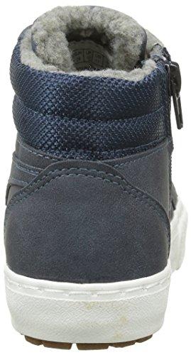 Baskets Gris KangaRoos Enfant KAVU Navy Grey Mixte I 423 Hautes Dk wBZEZYx