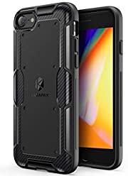 Anker iPhone 8 Case, iPhone 7 Case, KARAPAX Shield Case Soft TPU with Carbon Texture and Good Grip [Support Wireless Charging] [Slim Fit] for Apple 4.7 in iPhone 8 (2017) / iPhone 7(2016) - Black