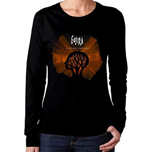 Gojira L'Enfant Sauvage Cotton Womens T Shirt Women's Tops Black M