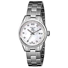 "TAG Heuer Women's WV1411.BA0793 ""Carrera"" Casual Watch with Diamonds"