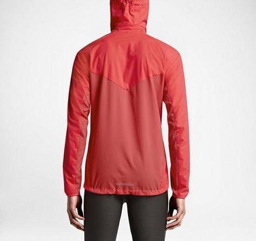 7a9b2c22c4cf Amazon.com  Nike Men s Shield Light Full Zip Running Jacket Red 642360-671   Clothing