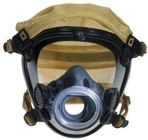 SELTS Scott AV-2000 Facepiece; With Polyester Head Harness; Size: Standard