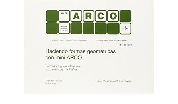 HACIENDO FORMAS GEOMETRICAS MINI ARCO: Amazon.es: AA.VV: Libros