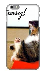 Special Summerlemond Skin Case Cover For Iphone 6 Plus, Popular Animal Cat Phone Case For New Year's Day's Gift