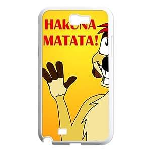 Samsung Galaxy N2 7100 Cell Phone Case White Hakuna Matata Xgocm