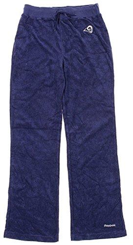 - Reebok Los Angeles Rams NFL Womens Terry Cloth Pants, Navy