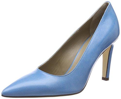 Noe Antwerp Women's Nerine Pump Closed Toe Heels Blue (Sky-blue 327) cheap original 9CeEJP