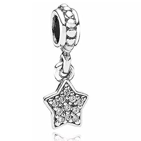 ef3835bb8 Pandora 791024cz Clear Pave Star Charm by PANDORA: Amazon.co.uk: Kitchen &  Home