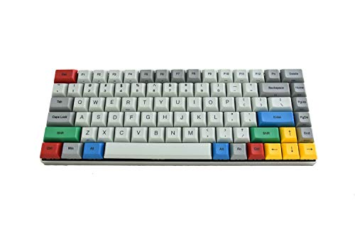 Vortexgear Race 3-75% Size TKL Programmable Mechanical Gaming Keyboard - Grey Alu Casing - PBT DSA Profile Dye Sub Keycaps - Cherry Mx Switches [CNC Aluminium Casing] RGBY Modifiers (Cherry - Racer Sub