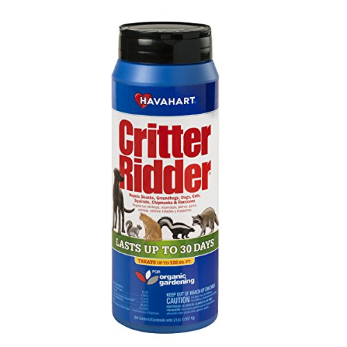Havahart Critter Ridder 3142 Animal Repellent Granular Shaker, 2-Pound ()
