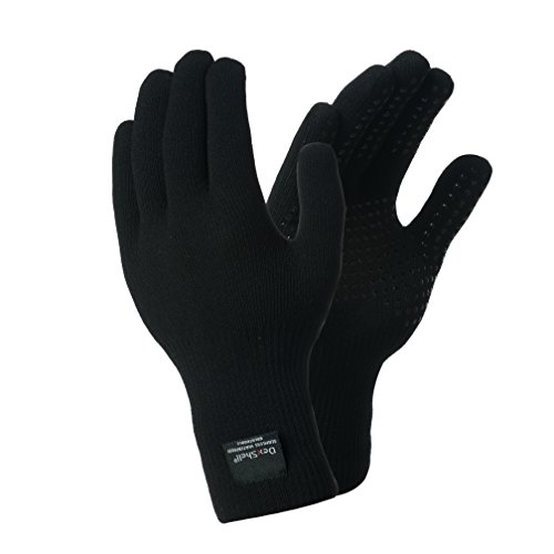 Dexshell Waterproof Breathable Thermfit Gloves, Thermolite Yarns Inner (Thermolite Nylon Gloves)