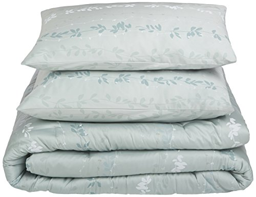 Calvin Klein Home Nightingale Comforter Set, Queen, Sea Mist Calvin Klein Standard Blanket