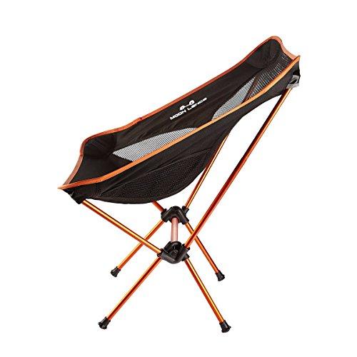 Moon Lence Ultralight Folding Chairs Heavy Duty Camping
