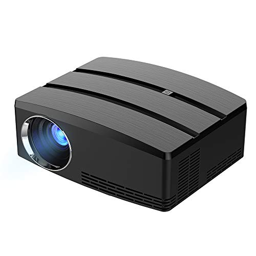 Hanbaili 4K 3D HD Smart Projector 4K 3D Full HD Projector WiFi Mini LED Android 6.01 Home Theater -