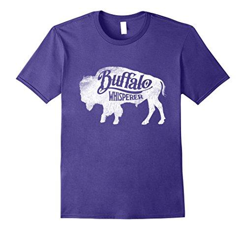 alo Silhouette Bison Whisperer T Shirt Tee XL Purple (Purple Buffalo)