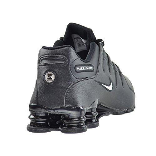 new arrivals 577dd 23f5e Nike Shox NZ EU Men s Running Shoes Black White-Black 501524-091 (