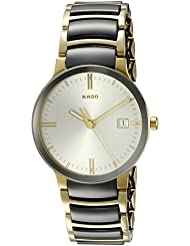 Rado Mens R30931103 Cerix Two Tone Stainless Steel Watch